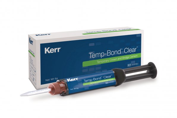 Temp-Bond™ Clear Box + Syringe